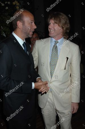 The Uk Charity Premiere of 'Pride and Prejudice' Party at the Banqueting House Whitehall London Eric Fellner & Mark Getty