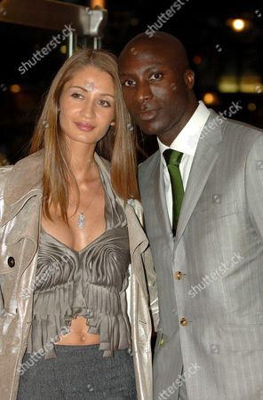 World Premiere of ' Revolver ' at the Odeon Cinema Leicester Square London Oswald Boateng with His Wife