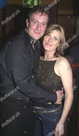11th Anniversary Party at Sticky Fingers Kensington Stephen Tompkinson with His Partner Nikki Taylor