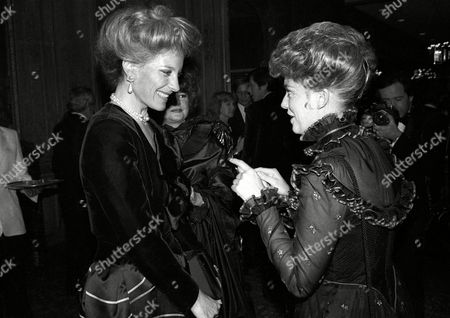 1982 Evening Standard Film Awards Princess Michael of Kent with Lynne Frederick