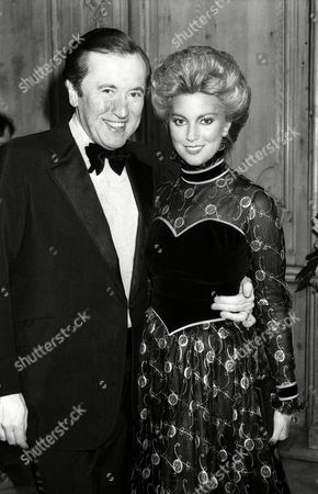 1982 Evening Standard Film Awards Sir David Frost with His Wife Lynne Frederick