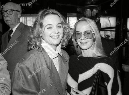 1983 Evening Standard Drama Awards Sinead Cusack with Georgina Hale