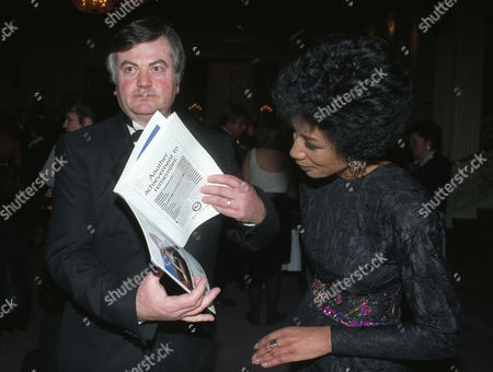 the British Academy of Film and Television at the Grosvenor House Hotel Roger Cook with Moira Stewart