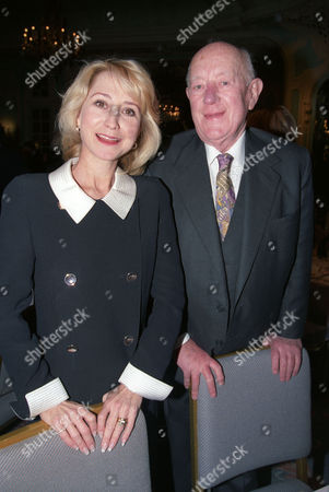 Evening Standard Drama Awards at the Savoy Felicity Kendal with Sir Alec Guinness