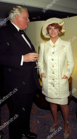 1993 Evening Standard Film Awards at the Savoy Lord Rothermere and Ann-margret