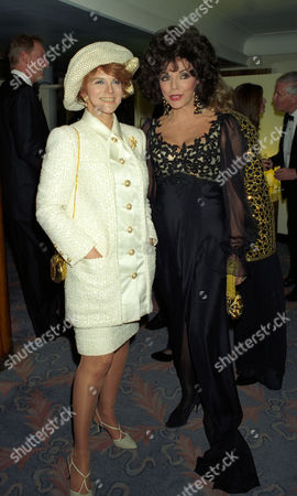 1993 Evening Standard Film Awards at the Savoy Ann-margret with Joan Collins