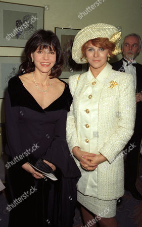 1993 Evening Standard Film Awards at the Savoy Sally Field with Ann-margret