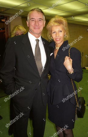 Evening Standard Drama Awards at the Savoy Keith Baxter with Elizabeth Aitken (harris)