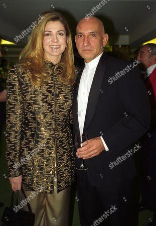Evening Standard Film Awards at the Savoy Natasha Richardson with Ben Kingsley