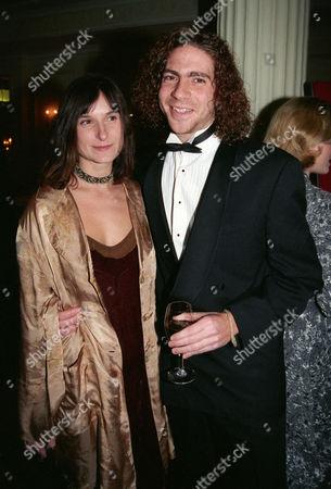 Evening Standard Film Awards at the Savoy Katrin Cartlidge with Her Boyfriend Peter Gevisser