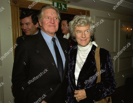 Evening Standard Drama Awards at the Savoy Denis Quilley with His Wife