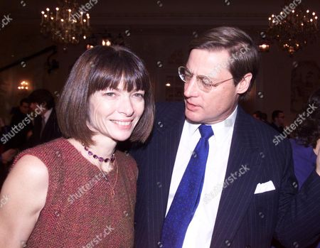 Evening Standard Drama Awards at the Savoy Hotel Anna Wintour with Her Partner Shelby Bryan