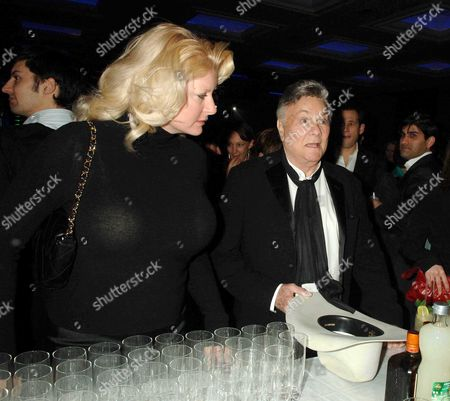 Sony Ericsson Empire Awards 2006 at the Hilton London Metropole Tony Curtis with His Wife Jill Vandenberg Curtis