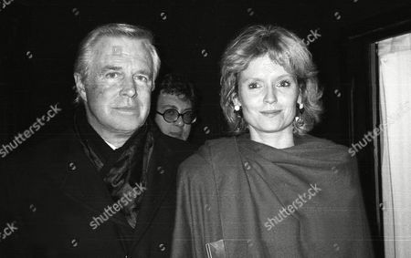 March 1987 39th British Academy Film and Television Awards George Peppard