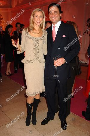 'A Night in Cartier Paradise' to Celebrate A New Collection of Jewellery by Cartier at the Orangery Kensington Palace London Catrina Skepper with Her Husband Alessandro Guerrini-maraldi