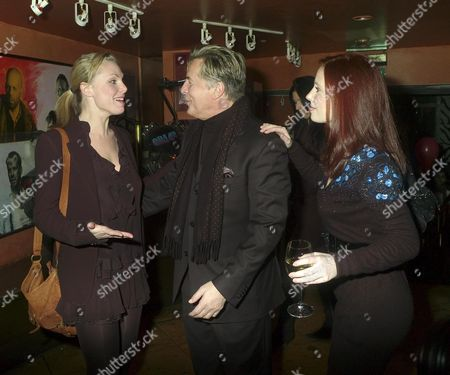 Afterparty at Planet Hollywood Following A Gala Vip Performance of Guys & Dolls Coventry Street Samantha Janus Don Johnson and Suzy Amy