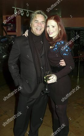Afterparty at Planet Hollywood Following A Gala Vip Performance of Guys & Dolls Coventry Street Suzy Amy and Don Johnson