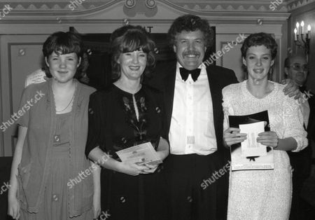 Premiere Afterparty For 'Chariots of Fire' at the Dorchester Hotel Colin Welland with His Family