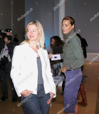 Allegra Hick's First Catwalk Show As Part of On/off at the Royal Academy in Burlington Gardens Lady Helen Taylor Yasmin Lebon