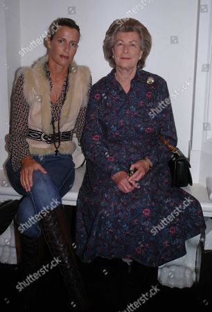 'On/off' Fashion Show at the Royal Academy in Burlington Gardens India Hicks and Lady Pamela Hicks