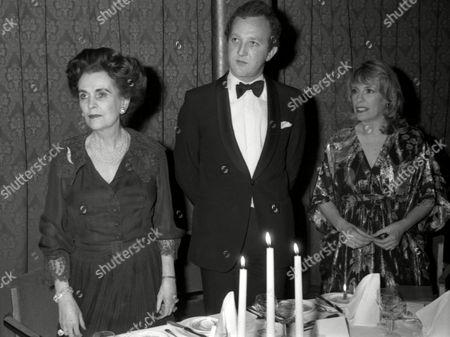 Ambassadorial Ball at Grosvenor House Margaret the Duchess of Argyll John Welch and Esther Rantzen