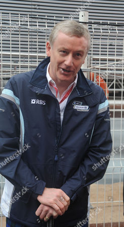 The Monte Carlo Grand Prix in Monaco Around the Paddock Chairman of the Royal Bank of Scotland Sir Fred Goodwin