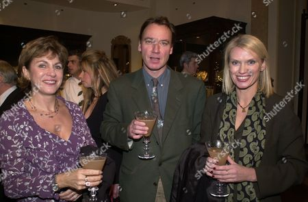 Asprey Christmas Party at the Bond Street Shop Gabriel Crawford Simon Bell and Anneka Rice