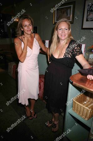 Book Launch Party For 'Fashion Babylon' at 43 South Molton Caroline Michel (lady Evans) and Imogen Edward-jones