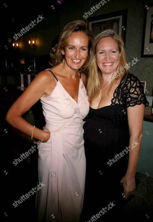 Stock Image of Book Launch Party For 'Fashion Babylon' at 43 South Molton Caroline Michel (lady Evans) and Imogen Edward-jones
