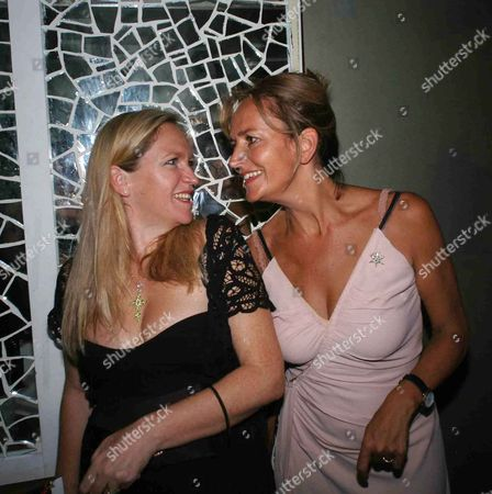 Book Launch Party For 'Fashion Babylon' at 43 South Molton Imogen Edward-jones and Caroline Michel (lady Evans)