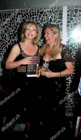 Book Launch Party For 'Fashion Babylon' at 43 South Molton Kirsty Young and Imogen Edward-jones