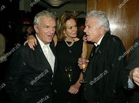 Book Launch Party For 'The Autobiography' at the Ivy West Street Lord Matthew Evans Caroline Michelle (lady Evans) and Nicky Haslam