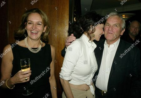Book Launch Party For 'The Autobiography' by Marie Helvin at the Ivy West Street Caroline Michelle (lady Evans) the Books Author Marie Helvin and Lord Matthew Evans