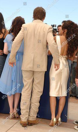 2006 Cannes Film Festival Photocall For Fast Food Nation Ashley Johnson Ethan Hawke & Wilmer Valderamma