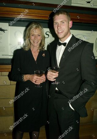 Cartier Party at the Natural History Museum to Celebrate the Opening of Their New Shop in Bond Street Lorraine Ashton with Her Son Claude