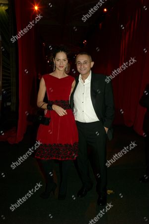 Cartier Party at the Natural History Museum to Celebrate the Opening of Their New Shop in Bond Street Johnny Elichaoff and Trinny Woodall