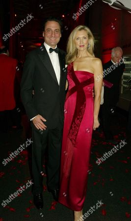 Cartier Party at the Natural History Museum to Celebrate the Opening of Their New Shop in Bond Street Catrina Skepper with Hier Husband Alessandro Guerrini-maraldi