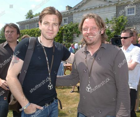 Cartier Style Et Luxe On the Private Lawn at Goodwood Festival of Speed Ewan Mcgregor & Charlie Boorman