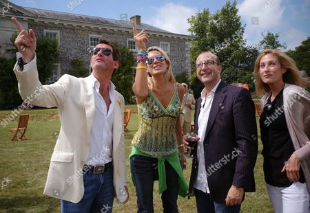 Cartier Style Et Luxe On the Private Lawn at the Goodwood Festival of Speed Tim Jefferies Claire Staples and Paul Mckenna