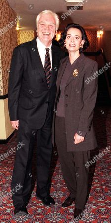 Antony Booth with His Daughter Cherie Blair