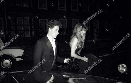 Wedding Party Viscount David Linley and Susannah Constantine
