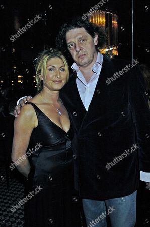 Marco Pierre White & Frankie Dettori's Fundraiser For the Conservative Party Election Campaign Fund at Frankies Resturant in Knightsbridge Marco Pierre & Mari White