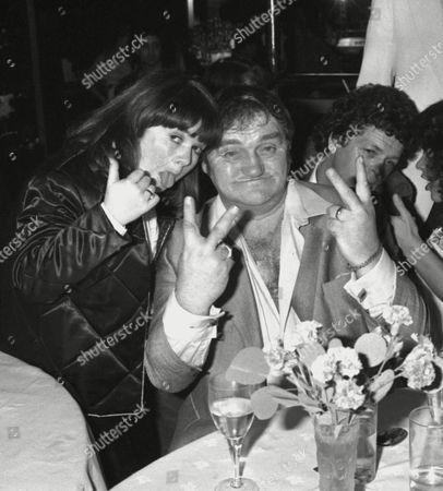 Birthday Party at Stringfellows Janette Krankie (the Krankies) and Les Dawson