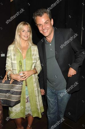 Private View of British Artist Damian Elwes at 'Scream' Burton Street London Emma Woolard & Danny Huston