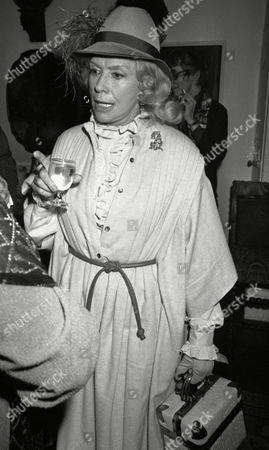Diana Dors 50th Birthday Party at Sercys Dorothy Squires