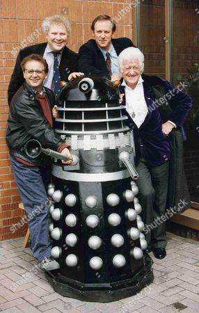 Dr Who's Tom Baker Peter Davidson Jon Pertwee and Sylvester Mccoy