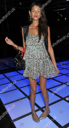 Stock Image of Embargo Club Re-launch Party Lots Road Chelsea London Jamie Gunns
