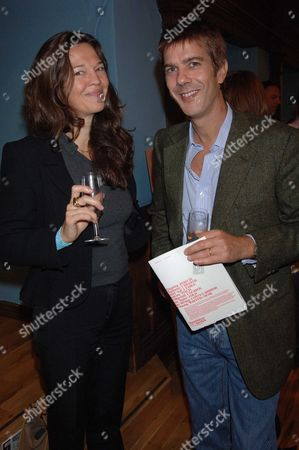 The Uk Launch of Established & Sons Leading British Manufacturing and Design Company at Liberty's Store Regent Street Jennifer Hall with Her Husband Glen Wilhide