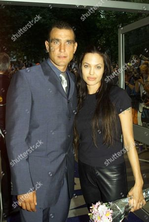European Premiere For 'Gone in 60 Seconds' at the Odeon Westend Vinnie Jones and Angelina Jolie