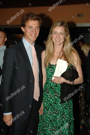Arrivals at the 1st Night of the New London Production of Evita at the Adelphi Theatre the Strand London Donald & Eva Rice